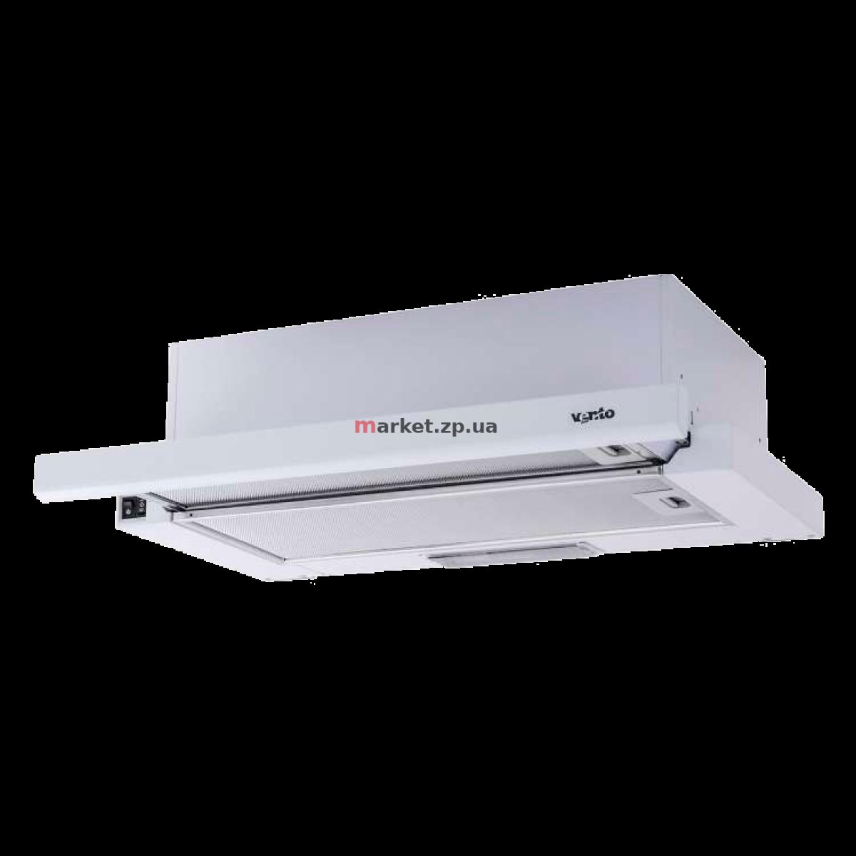 Вытяжка VENTOLUX GARDA 60 WH (700) SLIM
