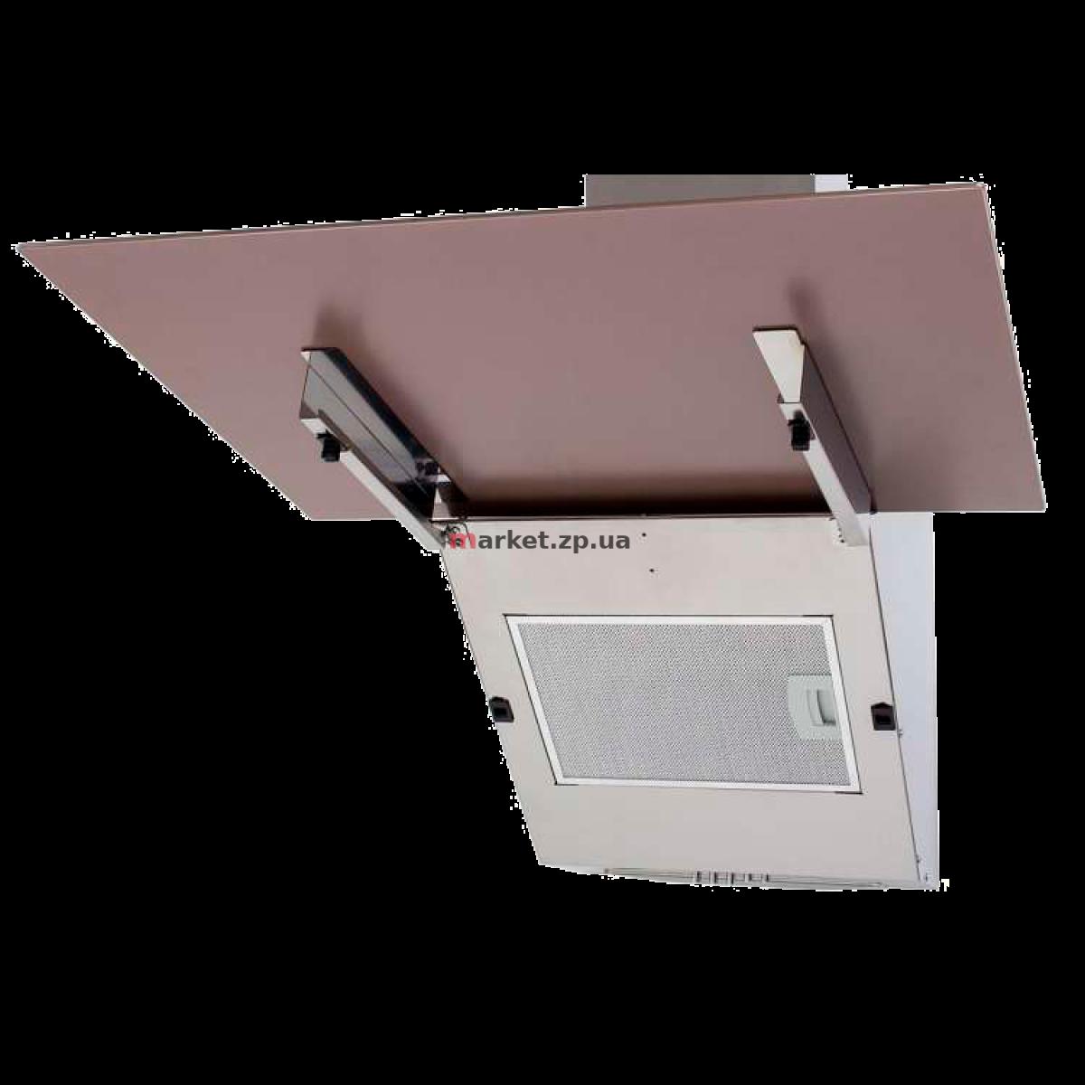 Вытяжка VENTOLUX MIRROR 60 SAND (750) PB бежевое стекло