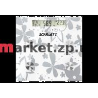 Весы напольные SCARLETT SC-216 silver