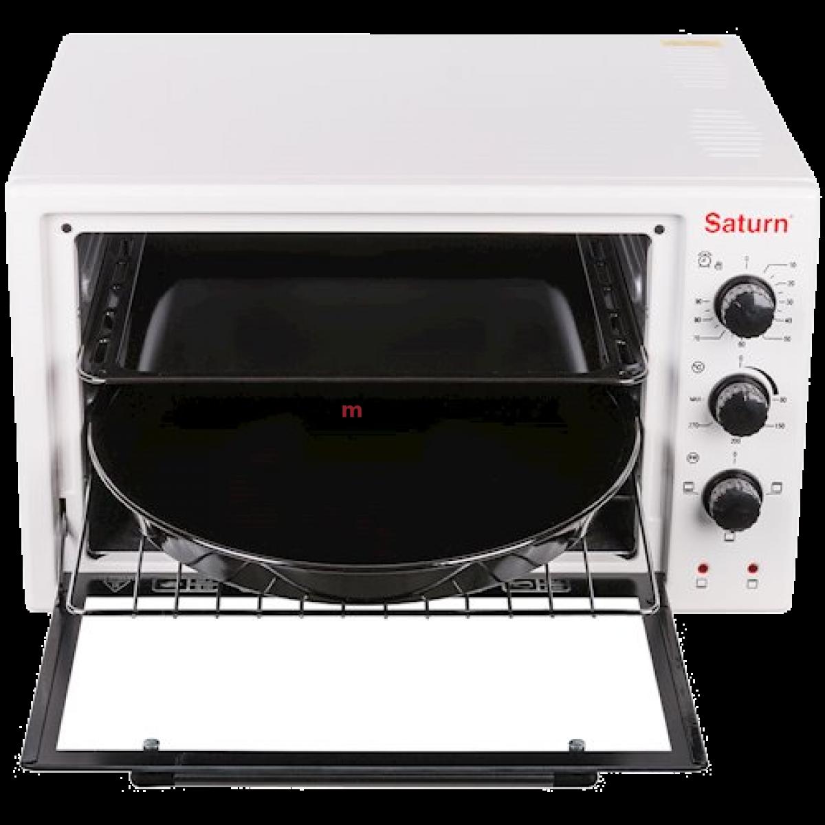 Мини-Печь электрическая настольная SATURN ST-EC3801-White