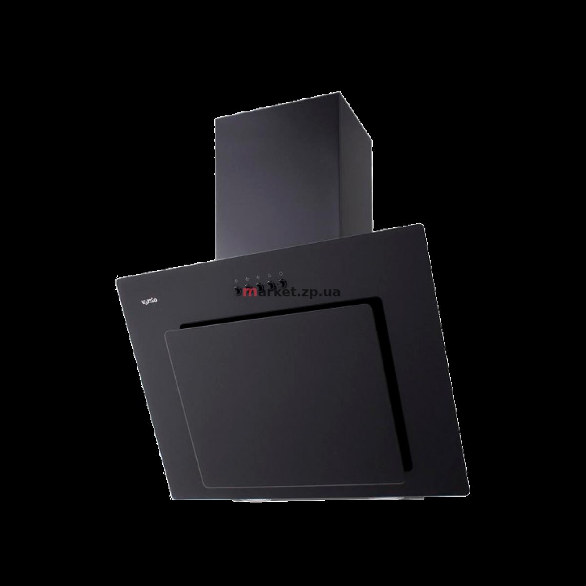 Вытяжка VENTOLUX FIORE 60 BK (750) PB чёрное стекло