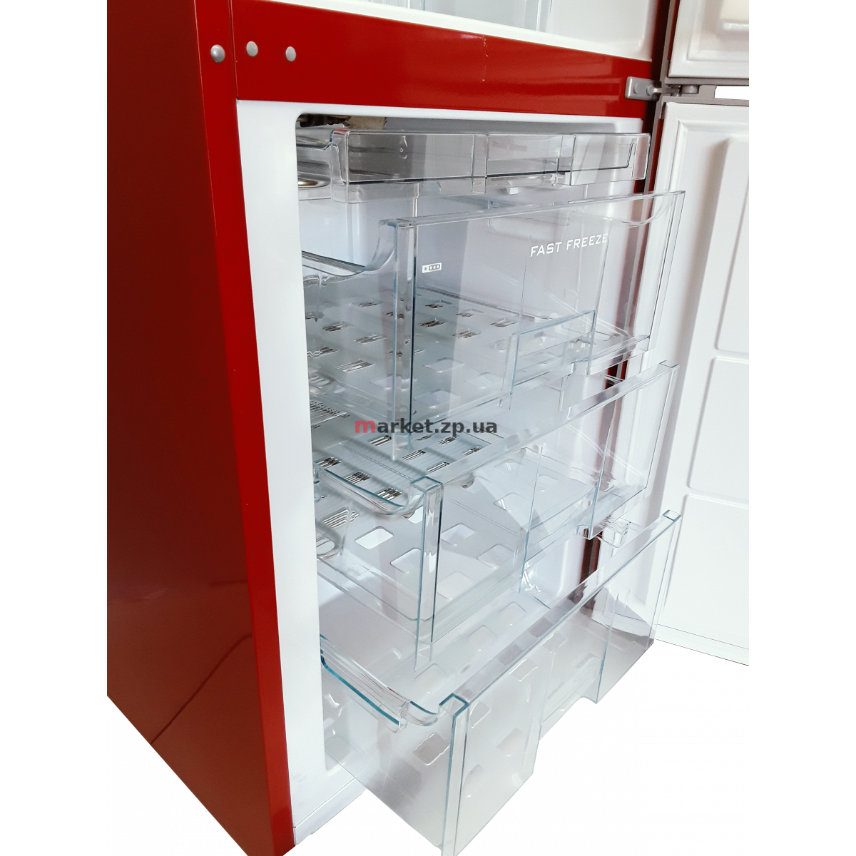 Холодильник SNAIGE RF53SM-S5RP210 красный