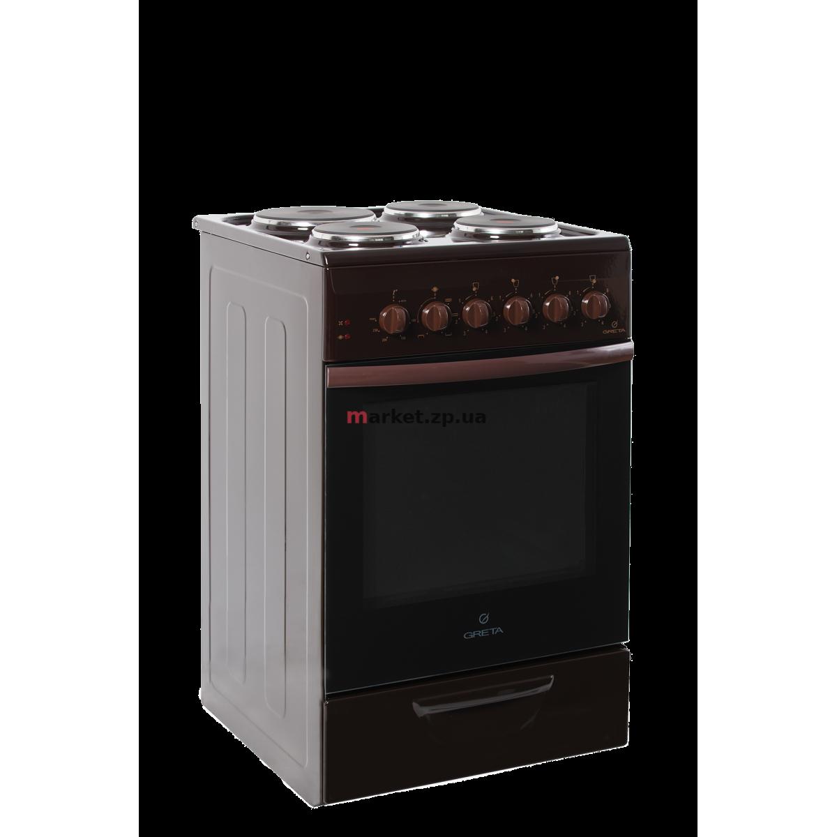 Плита электрическая GRETA 1470-Э-исп 07 коричневая