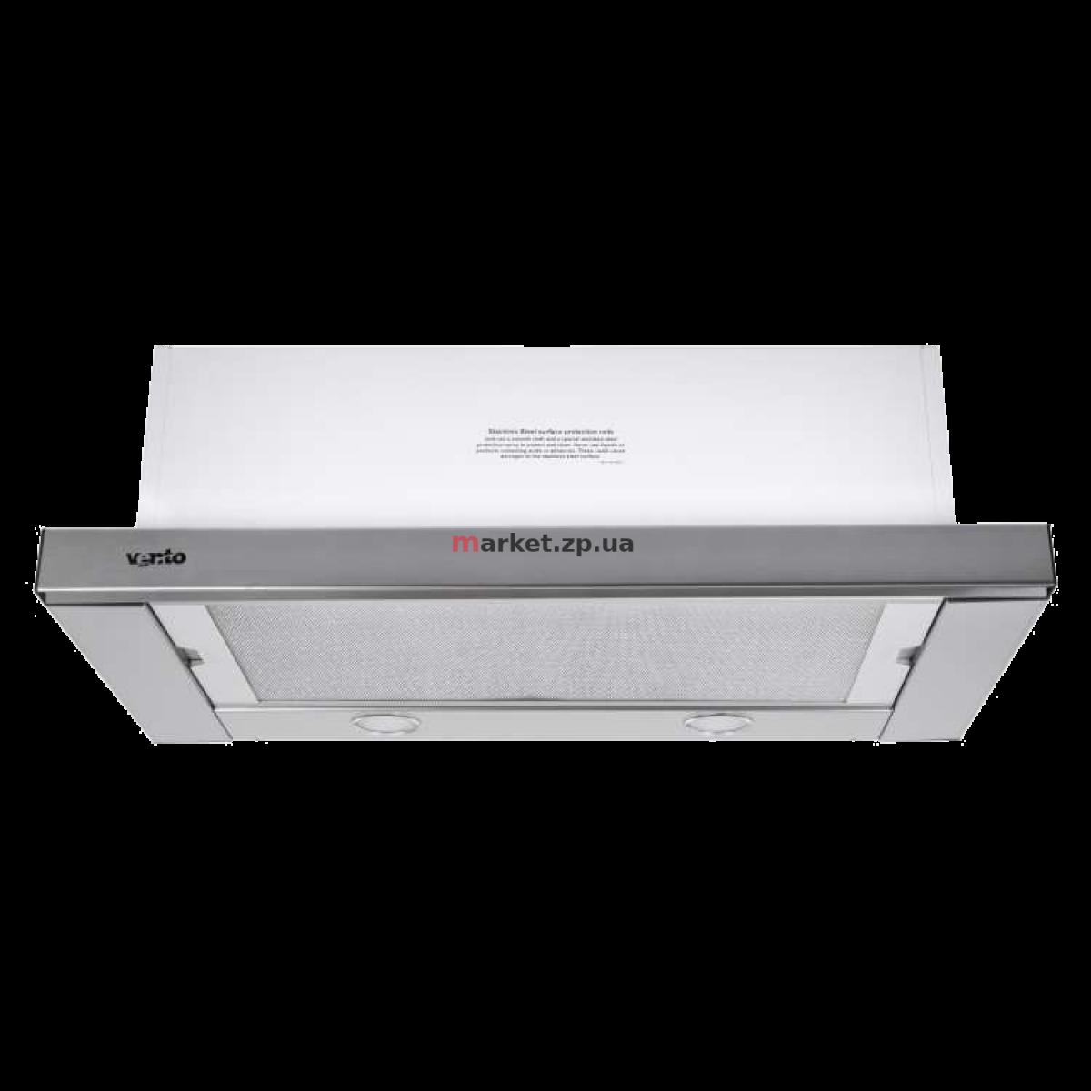 Вытяжка VENTOLUX GARDA 60 INOX (800) SMD LED
