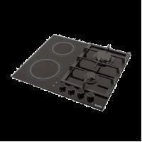 Варочная поверхность комбинированная VENTOLUX  HG622 B9G CS (BK)