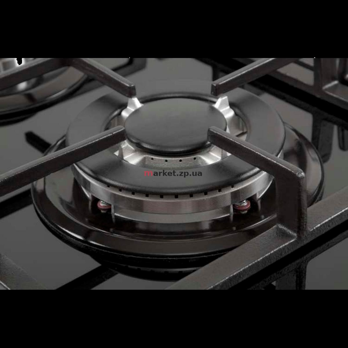 Варочная поверхность газовая VENTOLUX HG C7G CEST (BK)