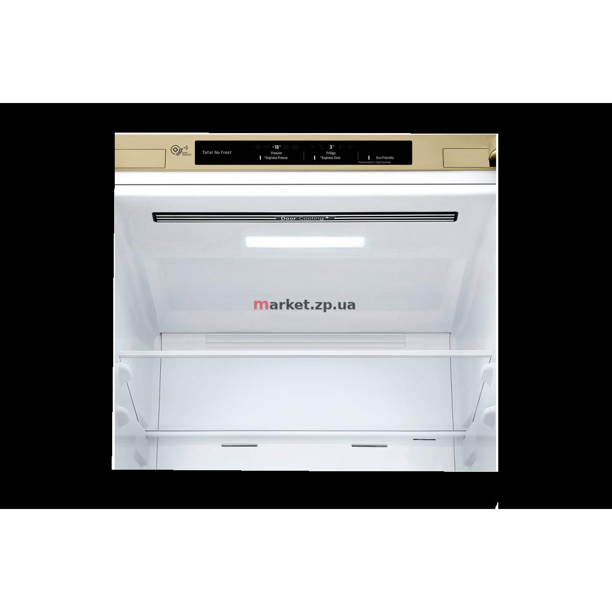 Холодильник  LG GA-B459SECM бежевый