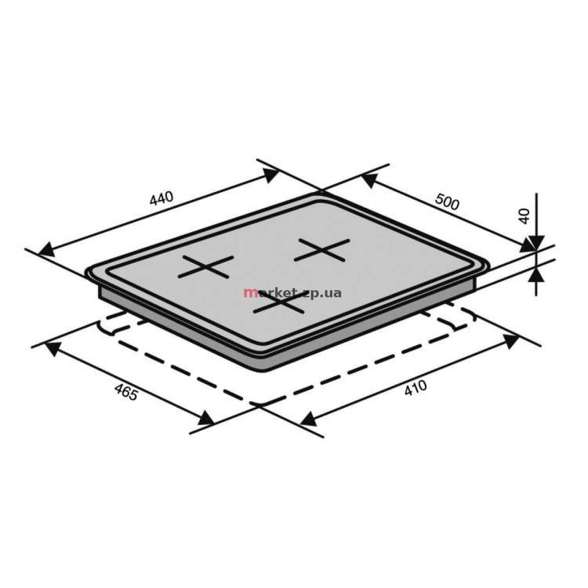 Поверхность VENTOLUX HG640-G1 EES 45 (X)