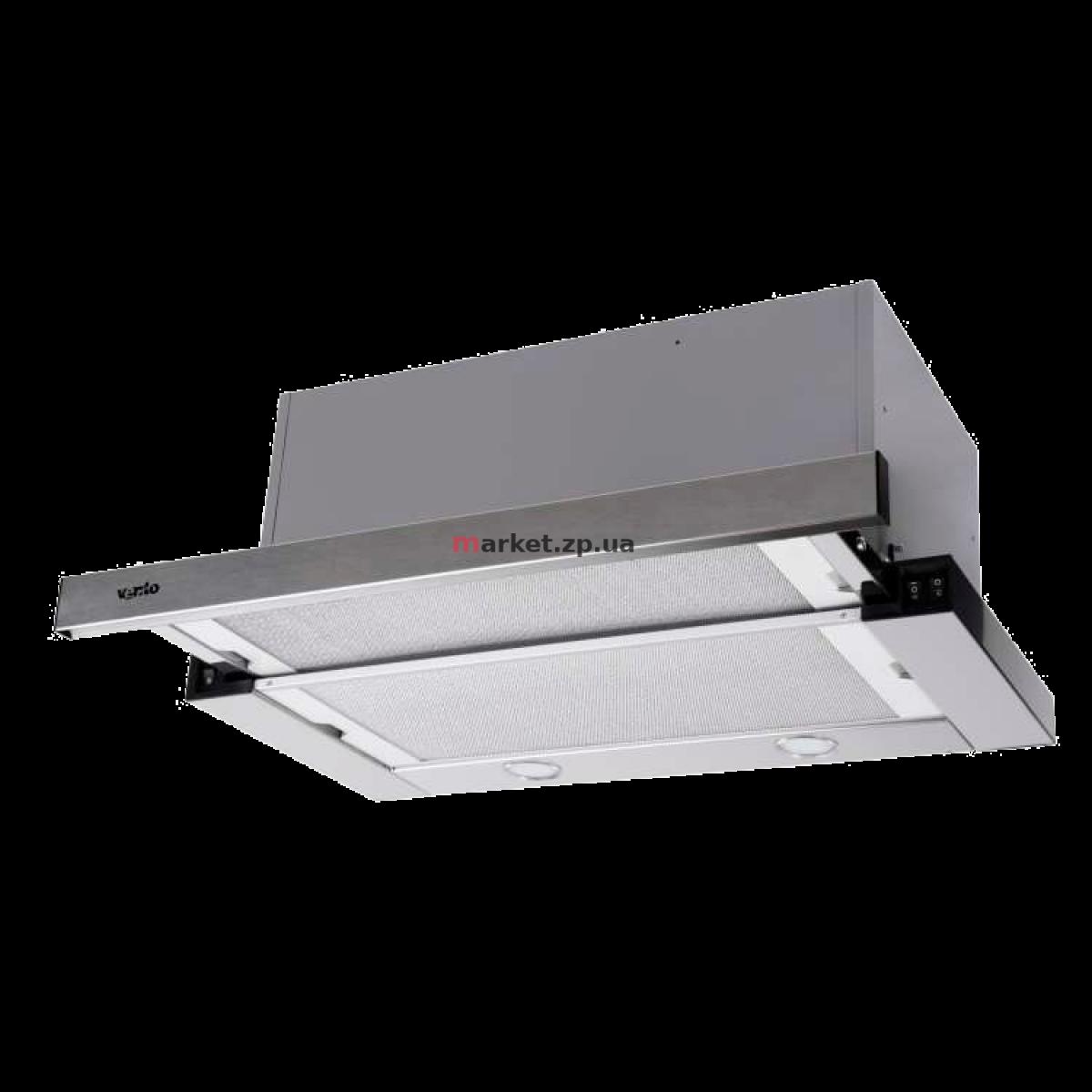 Вытяжка VENTOLUX GARDA 60 INOX (1300) SMD LED