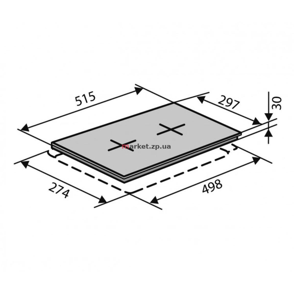 Поверхность VENTOLUX HG320 EES (INOX) 3