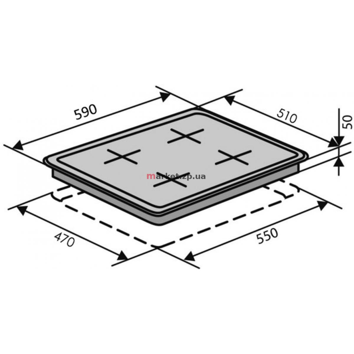 Поверхность VENTOLUX HG H7 CEST (X)