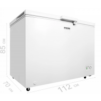 Морозильный ларь PRIME Technics CS 32141 M