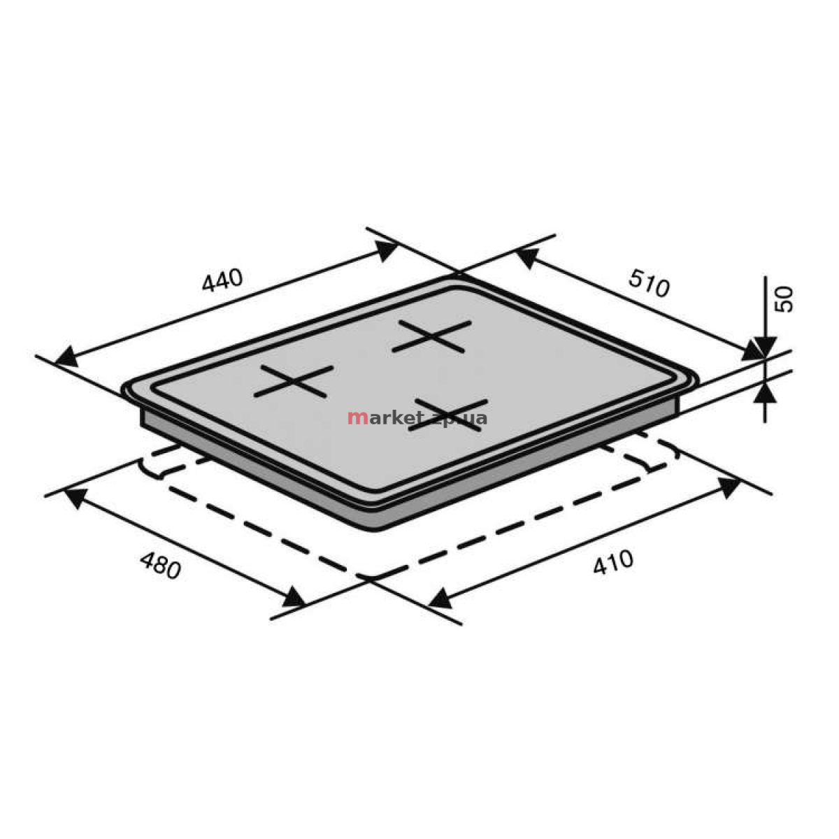 Поверхность VENTOLUX HSF430-P3 CS (X)