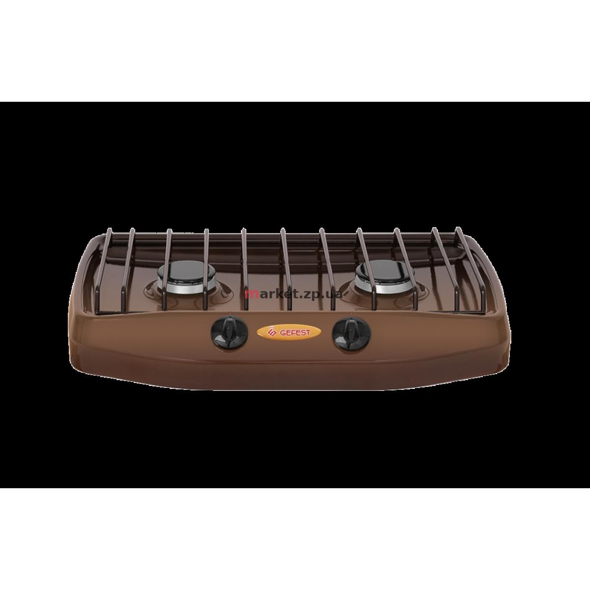 Настольная газовая плита 2 комф. GEFEST 702-02