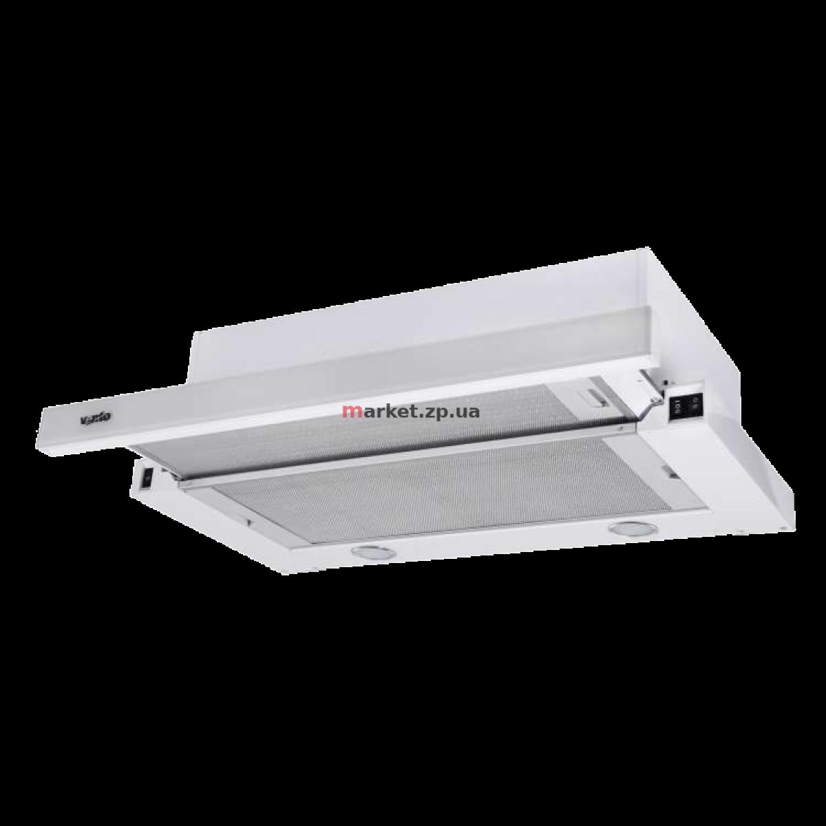 Вытяжка VENTOLUX GARDA 60 WHG (750) SMD LED