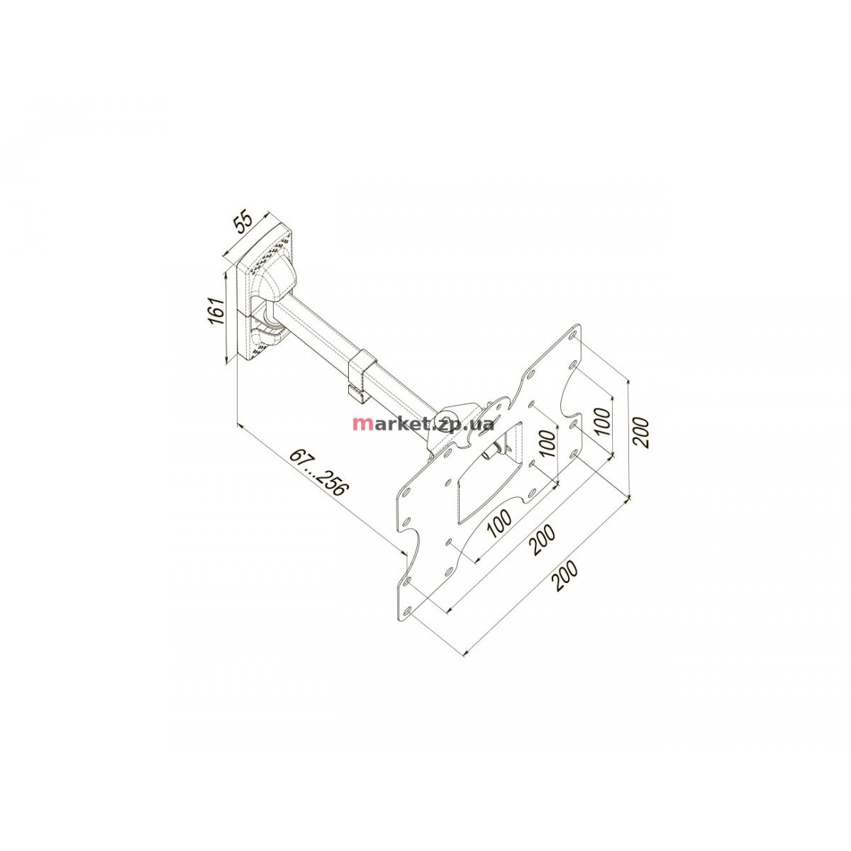 Кронштейн  KSL WMO-4023T