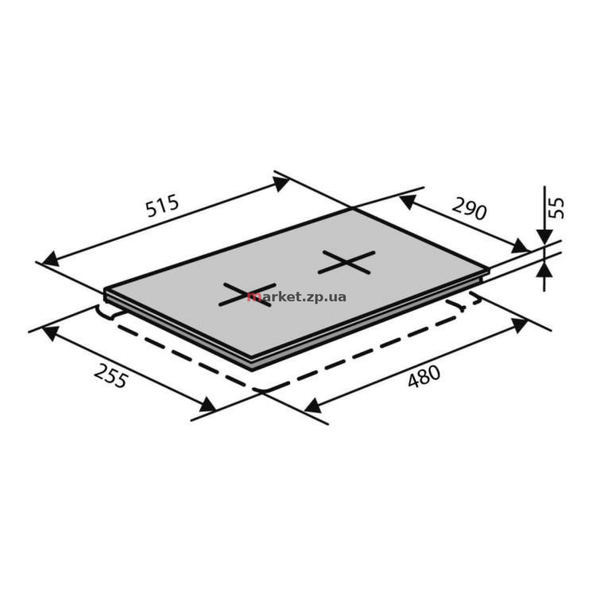 Поверхность VENTOLUX HSF320 CS (Х) 3