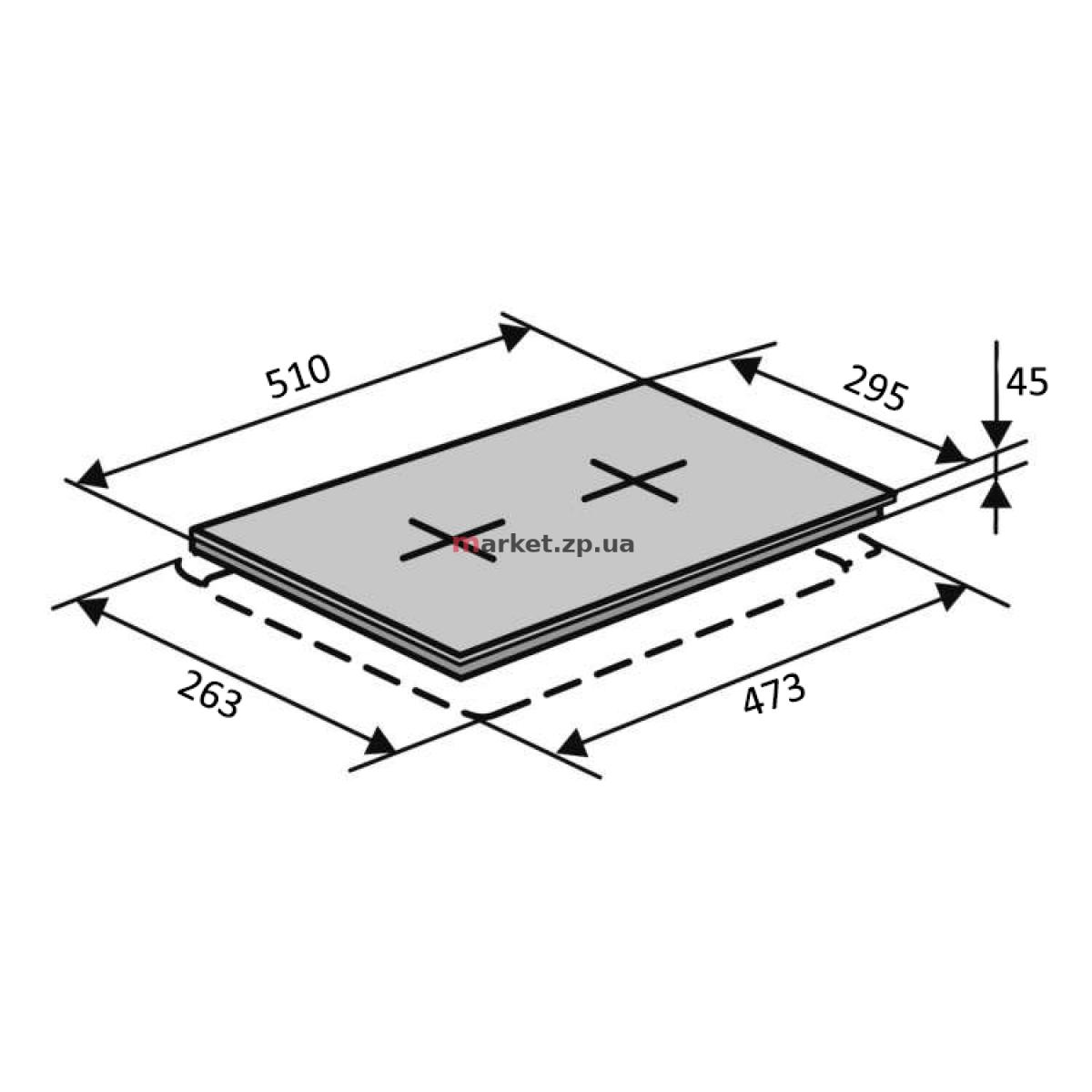 Поверхность VENTOLUX HG320G CEST (BK) 9