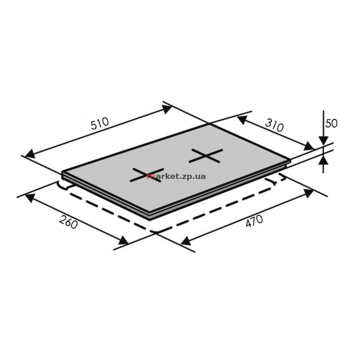 Поверхность VENTOLUX HG320 CEST (X) 7