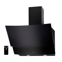 Вытяжка VENTOLUX WAVE 60 BK (750) TRC чёрное стекло