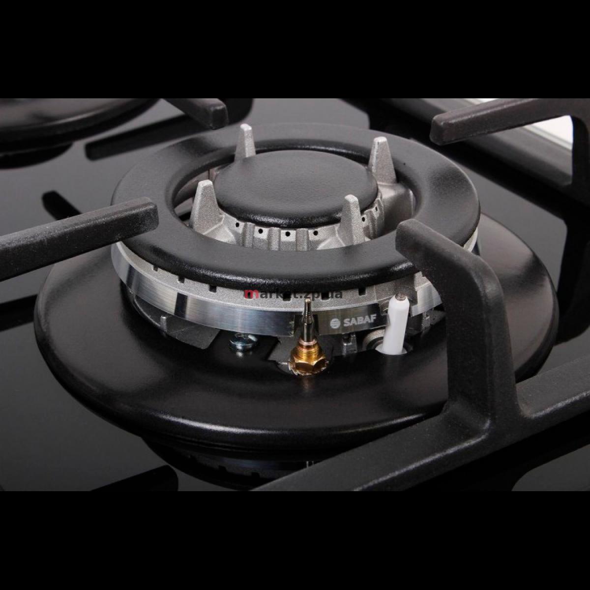 Варочная поверхность газовая VENTOLUX HSF320G CEST (BK) 3