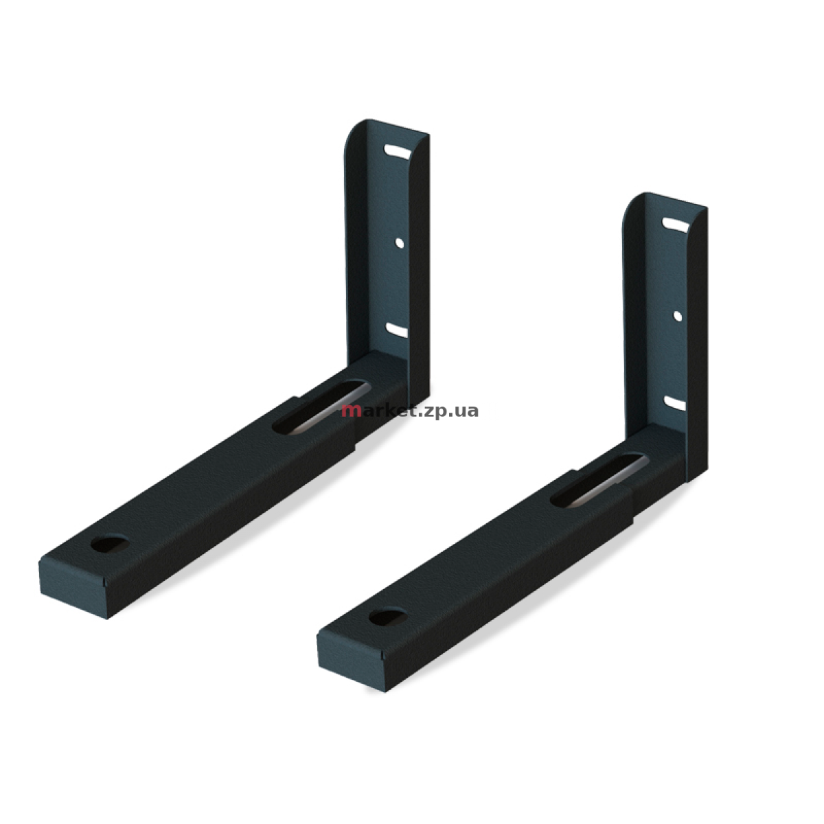 Настенный кронштейн  KSL MW-02-B Black для СВЧ