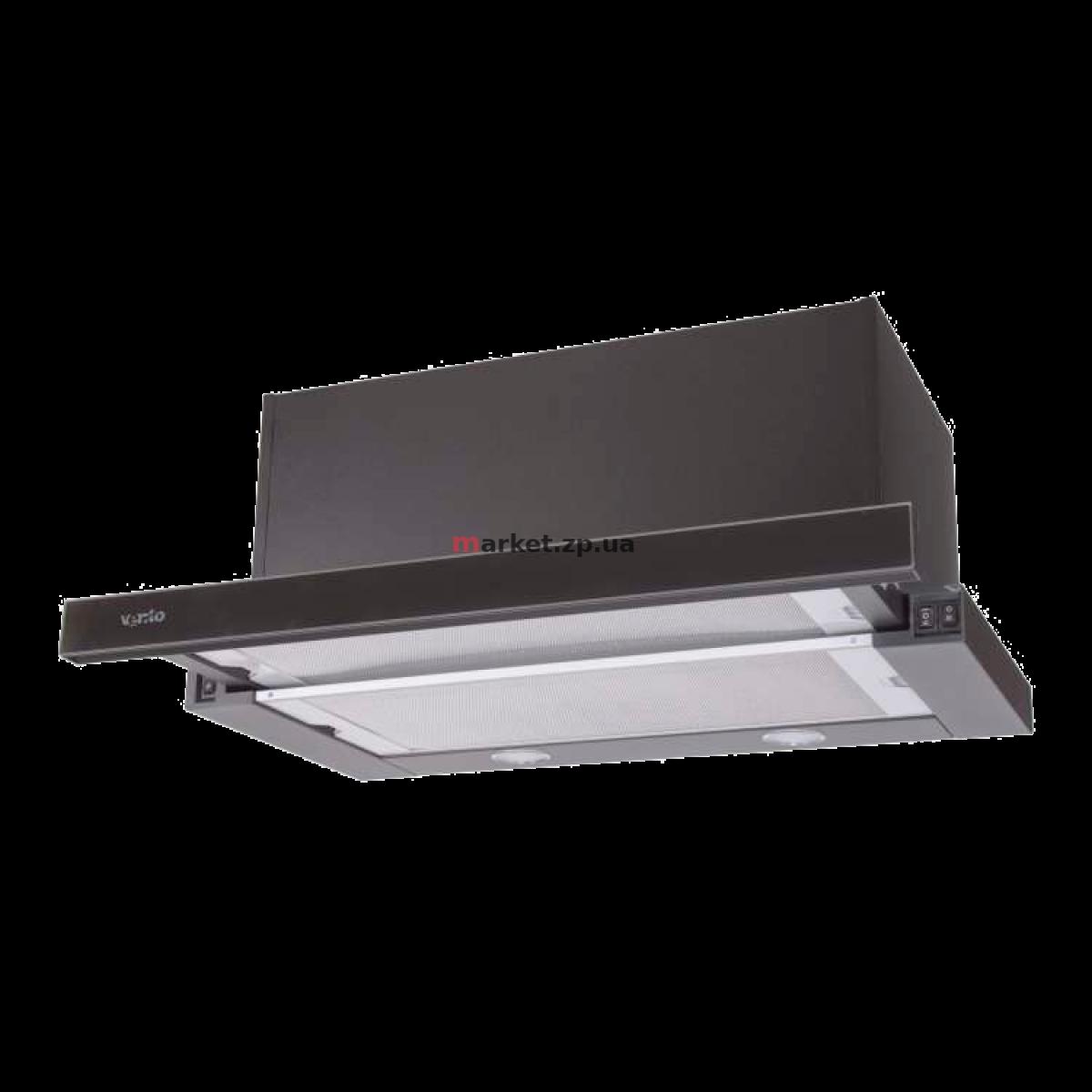 Вытяжка VENTOLUX GARDA 60 BK/BG (1100) SMD LED